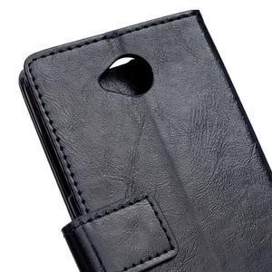 Fold peňaženkové puzdro na Microsofst Lumia 650 - čierné - 6