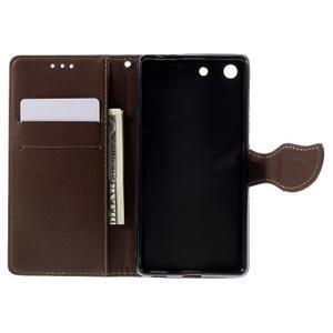 Blade Peňaženkové puzdro pre Sony Xperia M5 - rose - 6