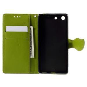 Blade peněženkové pouzdro na Sony Xperia M5 - hnědé - 6