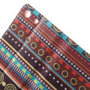 Stand Peňaženkové puzdro pre Sony Xperia M5 - tribal - 6