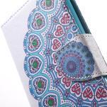 Stand Peňaženkové puzdro pre Sony Xperia M5 - mandala - 6/7