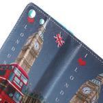 Stand Peňaženkové puzdro pre Sony Xperia M5 - Big Ben - 6/7