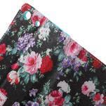 Stand Peňaženkové puzdro pre Sony Xperia M5 - kvitnúce ruže - 6/7