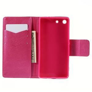 Crafty Peňaženkové puzdro pre Sony Xperia M5 - srdce - 6