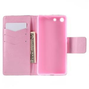 Crafty Peňaženkové puzdro pre Sony Xperia M5 - vtáčiky - 6