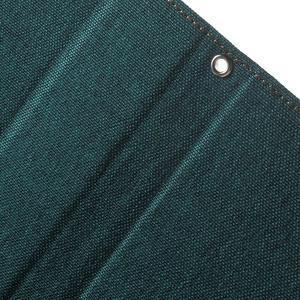 Canvas PU kožené / textilní pouzdro na Sony Xperia M5 - zelenomodré - 6
