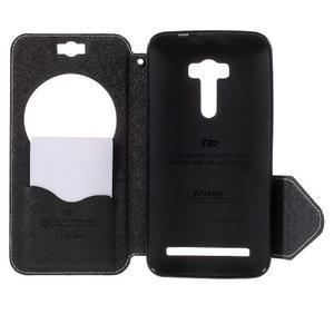 Peňaženkové puzdro s okýnkem na Asus Zenfone Selfie ZD551KL - biele - 6