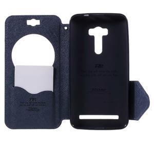 Peňaženkové puzdro s okýnkem na Asus Zenfone Selfie ZD551KL - fialové - 6