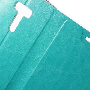 Horse peňaženkové puzdro na Asus Zenfone Selfie ZD551KL - modré - 6