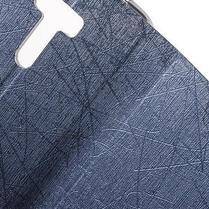 Lines puzdro pre mobil Asus Zenfone Selfie ZD551KL - tmavo modré - 6