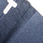 Lines puzdro pre mobil Asus Zenfone Selfie ZD551KL - tmavo modré - 6/7