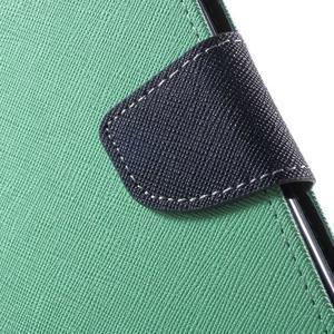 Mr. Goos peňaženkové puzdro pre Asus Zenfone Selfie ZD551KL - cyan - 6