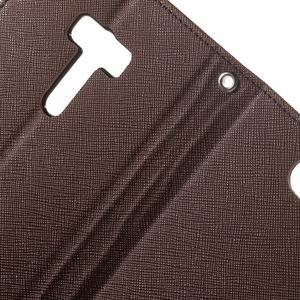 Mr. Goos peňaženkové puzdro na Asus Zenfone Selfie ZD551KL - hnedé - 6