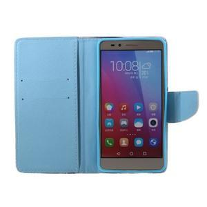 Knížkové pouzdro na mobil Honor 5X - attention - 6
