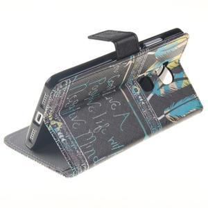 Peňaženkové puzdro pro mobil Honor 5X - quote - 6