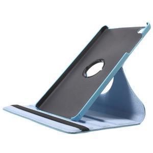 Otočné polohovateľné puzdro na Huawei MediaPad M2 - svetlemodré - 6