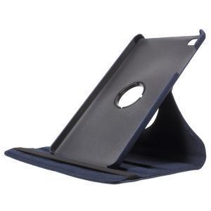 Otočné polohovatelné pouzdro na Huawei MediaPad M2 - tmavěmodré - 6
