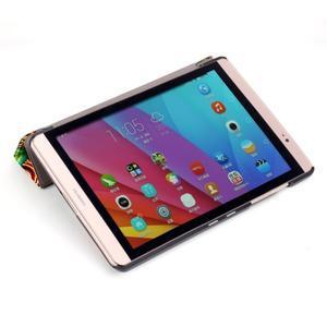 Třípolohové pouzdro na tablet Huawei MediaPad M2 8.0 - vortex - 6