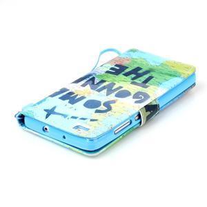 Picture PU kožené puzdro na Huawei P8 Lite - world - 6