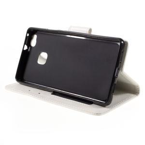 Easy peněženkové pouzdro na mobil Huawei P9 Lite - bílé - 6
