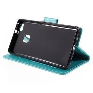 Easy peňaženkové puzdro na mobil Huawei P9 Lite - modré - 6
