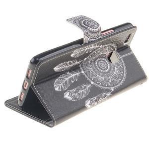 Floaty peňaženkové puzdro na mobil Huawei P9 Lite - lapač snov - 6