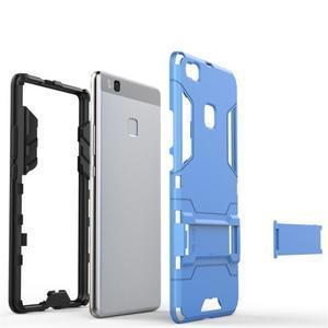 Odolný obal na mobil Huawei P9 Lite - modrý - 6
