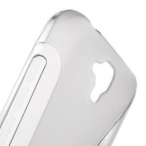 S-line gelový obal na mobil Huawei Y5 a Y560 - šedý - 6