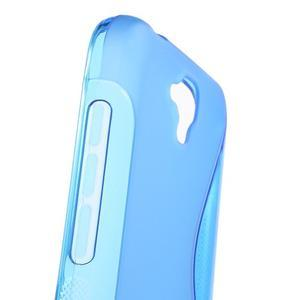 S-line gelový obal na mobil Huawei Y5 a Y560 - modrý - 6