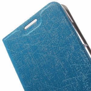 Lines knížkové pouzdro na Huawei Y5 a Y560 - modré - 6