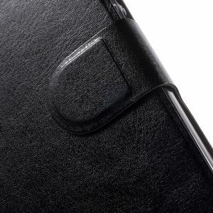 Horse peněženkové pouzdro na mobil Huawei Y5 a Y560 - černé - 6