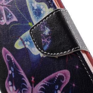 Emotive pouzdro na mobil Huawei Y6 - kouzelní motýlci - 6