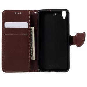 Leaf PU kožené pouzdro na mobil Huawei Y6 - rose - 6