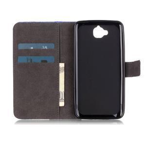 Knižkové puzdro na mobil Huawei Y6 Pro - slon - 6