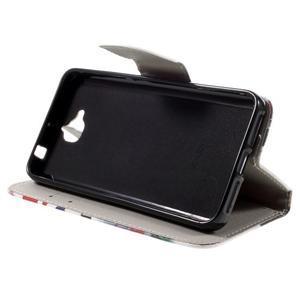 Emotive peňaženkové puzdro na mobil Huawei Y6 Pro - Big Ben - 6