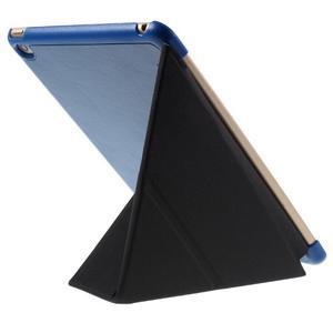 Origami polhovatelné pouzdro na iPad mini 4 - tmavěmodré - 6