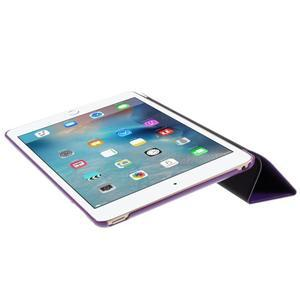 Origami polhovatelné pouzdro na iPad mini 4 - fialové - 6