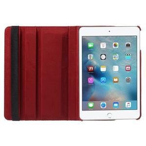 Cyrc otočné puzdro pre iPad mini 4 - červené - 6