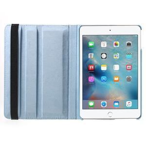 Cyrc otočné puzdro pre iPad mini 4 - svetlo modré - 6