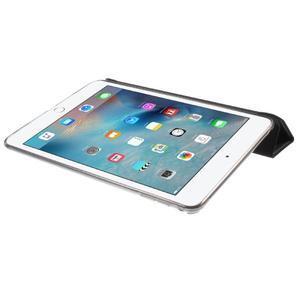Trifold trojpolohový puzdro pre tablet iPad mini 4 - čierne - 6