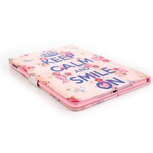 Knížkové pouzdro na tablet iPad mini 4 - Keep Calm - 6