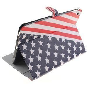 Knížkové puzdro pre tablet iPad Pro 9.7 - US vlajka - 6