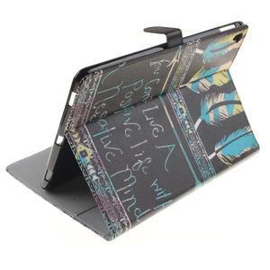Knížkové puzdro pre tablet iPad Pro 9.7 - tribal - 6
