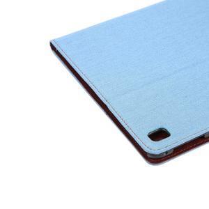 Jeans štýlové puzdro pre iPad Pro 9.7 - svetlomodré - 6