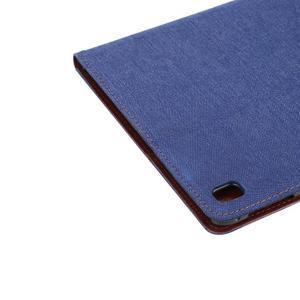 Jeans štýlové puzdro pre iPad Pro 9.7 - tmavomodré - 6