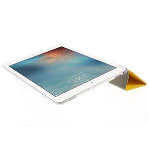 Trifold polohovateľné puzdro pre tablet iPad Pro 9.7 - žlté - 6