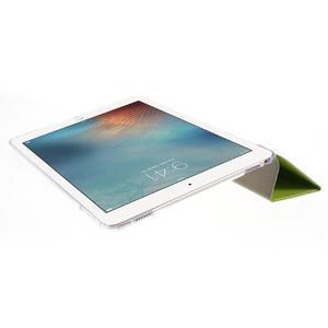Trifold polohovatelné pouzdro na tablet iPad Pro 9.7 - zelené - 6