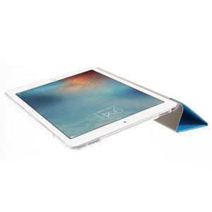 Trifold polohovatelné pouzdro na tablet iPad Pro 9.7 - modré - 6