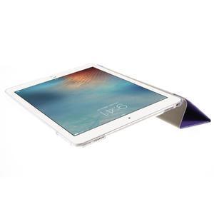 Trifold polohovateľné puzdro pre tablet iPad Pro 9.7 - fialové - 6