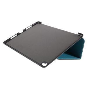 Clothy PU kožené puzdro pre iPad Pro 9.7 - svetlomodré - 6